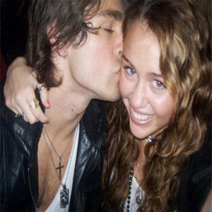 Justin Gaston & Miley Cyrus
