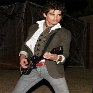 Justin Gaston Halloween