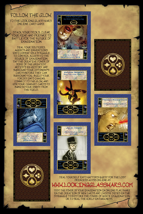 The Looking Glass Wars Collectible Card Game