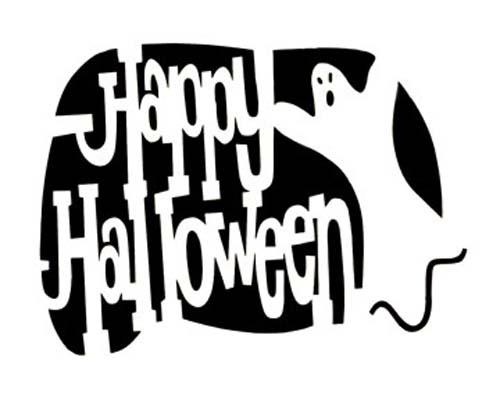 Happy Halloween pattern happy Halloween icons for Halloween  Shorts
