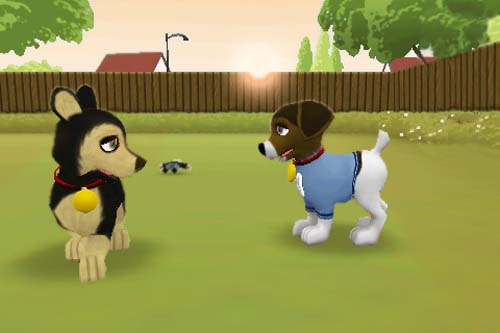 Touch Pets Dogs iPhone game