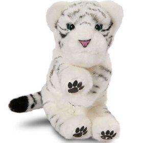 Alive Mini White Tiger Cub
