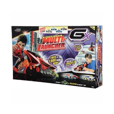 GX Racers Motorized Multi-Launcher