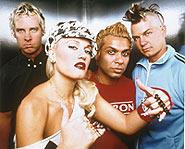 Gwen Stefani of No Doubt married rocker Gavin Rossdale of Bush.