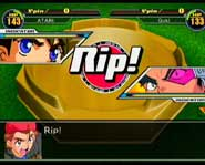 Let it Rip! With the new Nintendo Gamecube game console Beyblade Super Tournament video game.