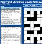 Christmas Movies Crossword