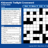 Twilight Crossword