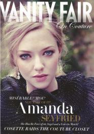 Amanda Seyfried in Vanity Fair