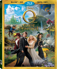 OZ THE GREAT AND POWERFUL ON BLU-RAY 6/11!