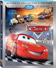 CARS 3D on Blu-ray October 29th!