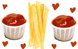 Love ketchup fries poll