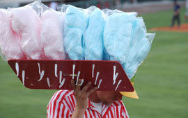 Ballpark cotton candy poll