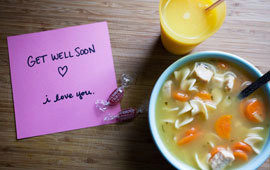 Flu cure soup poll