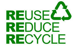 Reuse reduce recycle poll