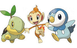 Piplup chimchar turtwig pokemon quiz