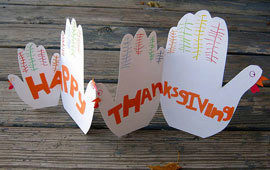 Thanksgiving crafts poll