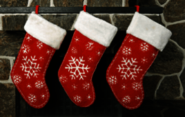Christmas stockings poll