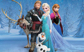 Frozen characters poll