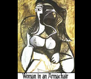 Woman in an Armchair.