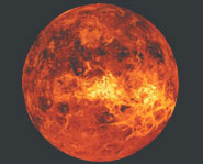 Venus is the most visible planet in the sky. It shines like a bright star just after sunset or just before dawn.