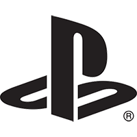 The classic, and mostly unchanged, PlayStation logo.